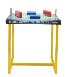 "Armwrestling table - ""Atlas - World armwrestling federation"""
