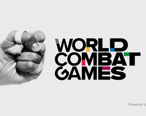 ARMWRESTLING IS PART OF THE WORLD COMBAT GAMES